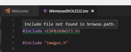 Browse path error