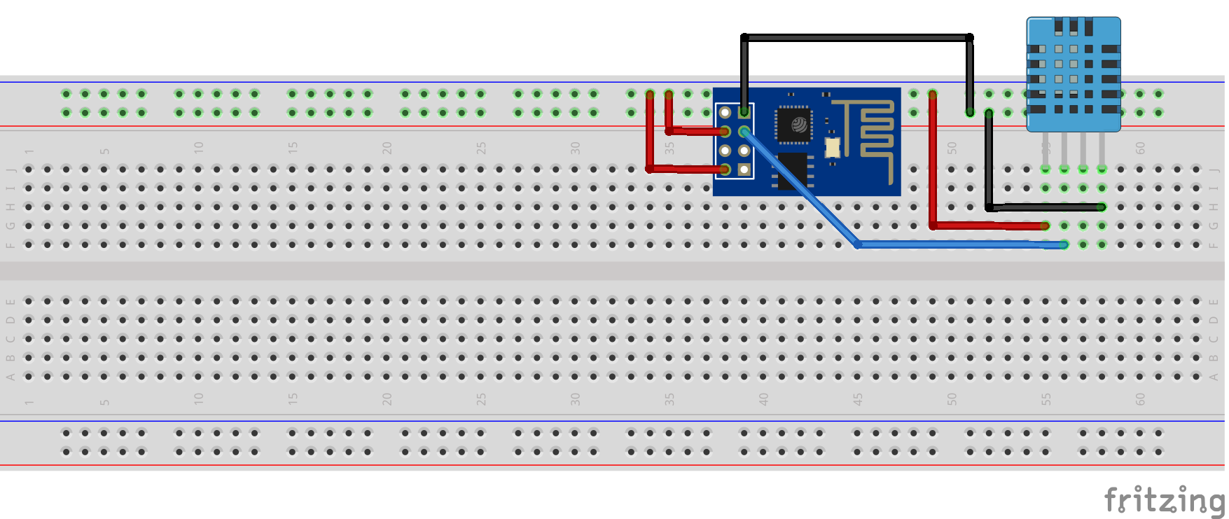 ESP 8266 - DHT11 bağlantıları